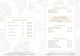 Ambrosia olasz menu beliv