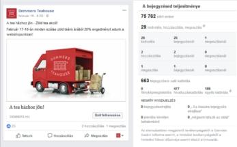 Demmers facebook poszt házhozszállítás