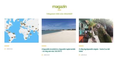 Vaya honlap magazin
